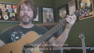 Guitar Lessons - Golden Slumbers by The Beatles - cover chords lesson Beginners Acoustic songs