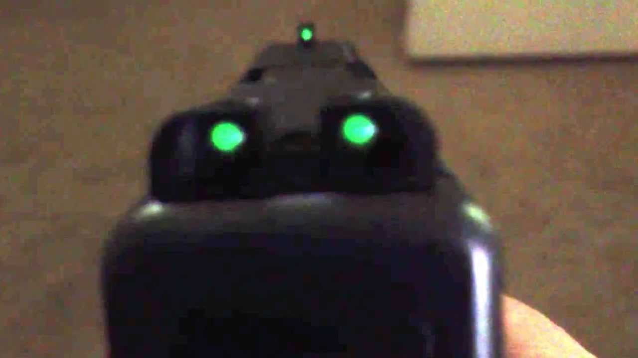 Truglo Sights On Glock 19 Gen4 Review Youtube