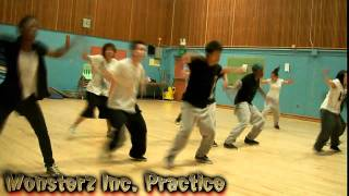 Monsterz Inc. Practice [[Krump Choreo]]