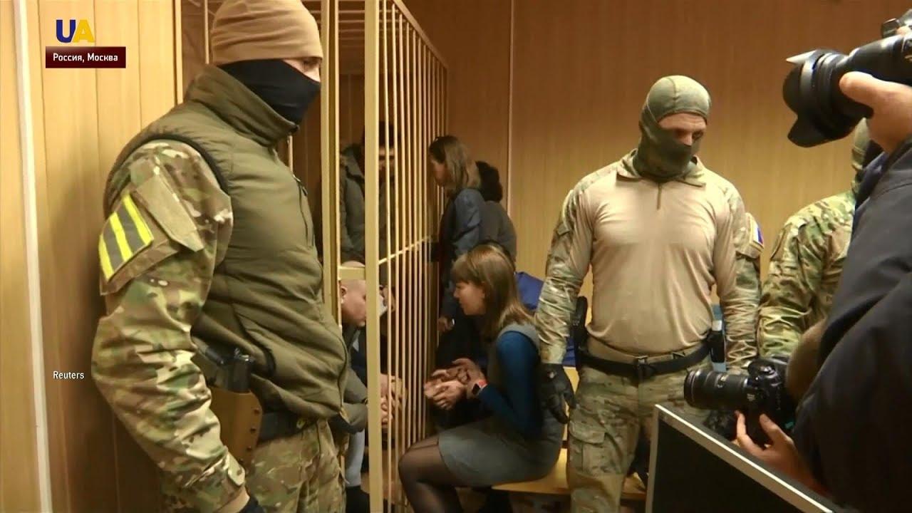 В Москве предъявили окончательное обвинение 18 украинским морякам