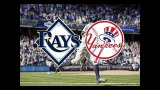 Game 43 Tampa Bay Rays vs New York Yankees GM1. LIVE FAN play by play Reaction STREAM May 17, 2019