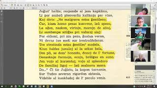 06 | Sinjoro Tadeo 1: 386-459 | Pan Tadeusz – 에스페란토 판 타데우시 1권 공부 (zoom)