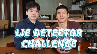 LIE DETECTOR CHALLENGE WITH @Joshua Garcia | Enchong Dee