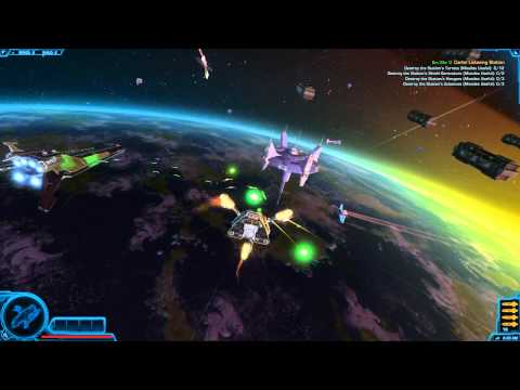 SWTOR Starships | D5-Mantis – Bounty Hunter Class | Acquisition, Tour & Space Combat