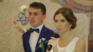 Жених с невестой рассказывают о гостях! Ведущий свадьбы, Николай. 30.09.16