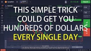Open free trading account: https://goo.gl/m3fdc3 in this video, i'm going to show you a simple method can use make profitable trades binary options...