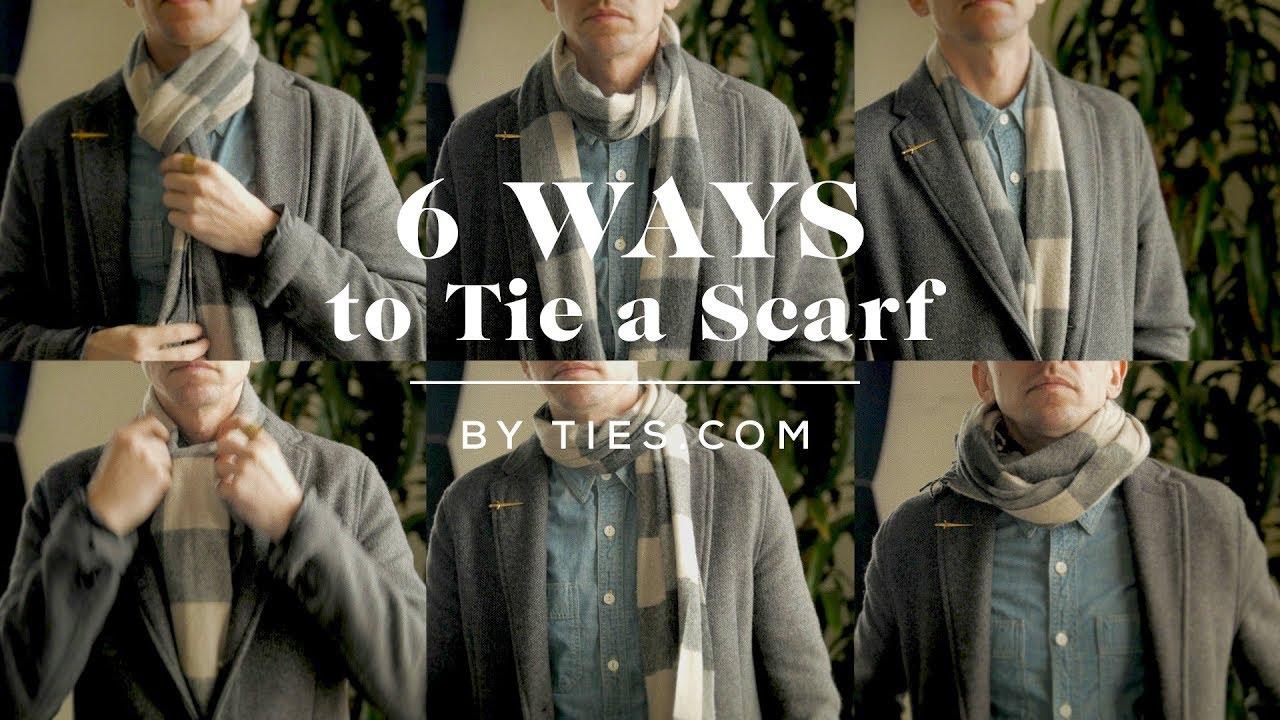 c70e99cb6f13f2 6 Ways To Tie A Scarf For Men | The GentleManual