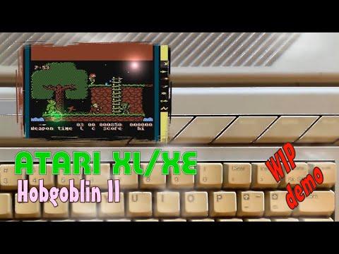 Atari XL/XE -=Hobgoblin 2=- WIP demo