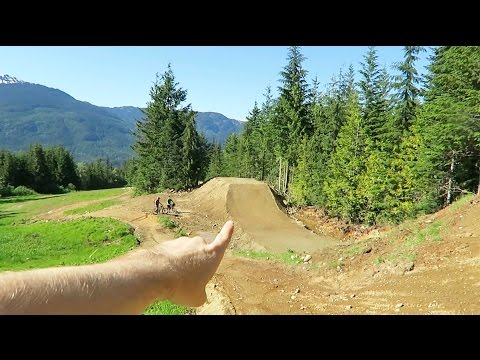My First Time at the Whistler Bike Park (Behind The Scenes)