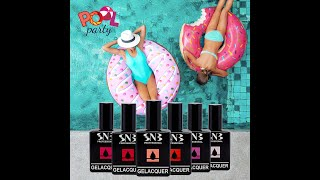 GELacquer SNB Professional Pool Party Collection