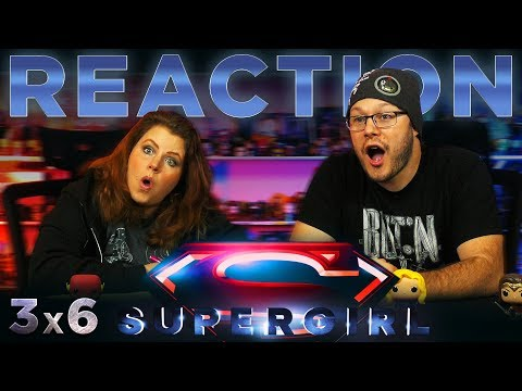 """Supergirl 3x6 REACTION!! """"Midvale"""""""