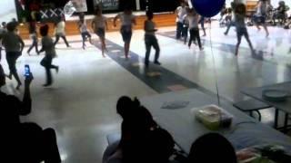 Elementary kids Caveman Dance