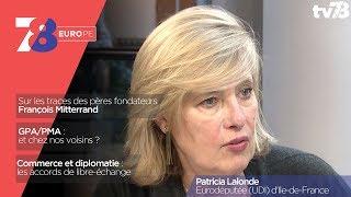 7/8 Europe – émission du 11 mai 2018 avec Patricia Lalonde, eurodéputée UDI d'Île-de-France