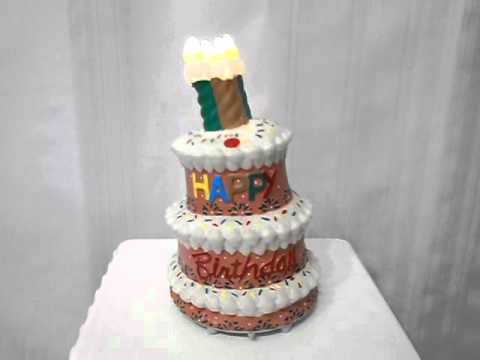 Singing Dancing Birthday Cake