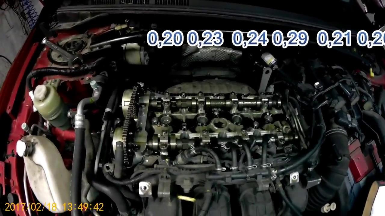 Мицубиси лансер 10, зазоры клапанов, на газе 30 000 км ...
