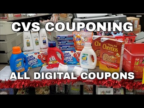 Easy! CVS COUPONING | ALL DIGITAL COUPONS | One Cute Couponer