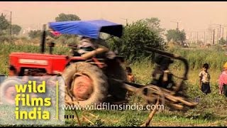 Tractors and mechanised agriculture revolution hit India in 1990's