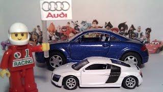 Машинки для детей. Часть 2. Большой и маленький. Cars for kids. Large and small. Развивающее видео.(, 2015-02-27T17:36:20.000Z)