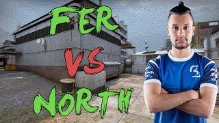 CSGO: POV SK fer vs North (33/16) cache @ DH Masters Las Vegas 2017