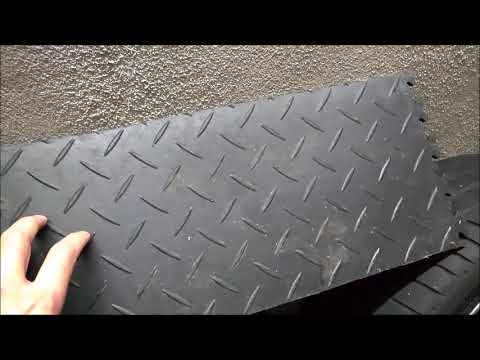 video flexi tile pvc bodenbelag als garagenboden doovi. Black Bedroom Furniture Sets. Home Design Ideas
