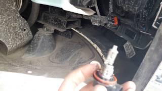 замена ламп дхо Hyundai Creta хендай крета
