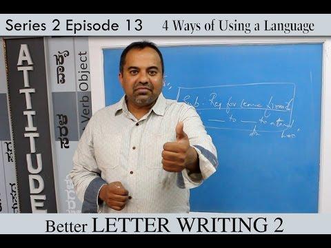 prakruthi n banwasis improve english through kannada s2 e13 better letter writing skills 2 youtube