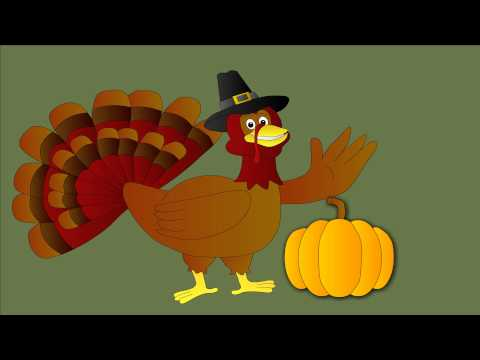 Thanksgiving Turkey animation by Joel Anderson