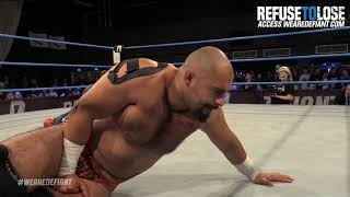 Rampage vs John Klinger (Defiant Championship) Highlights - Refuse To Lose 2018