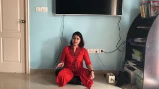 Kurai ondrum illai   MS Subbalakshmi   Cover by Shwetha Balan