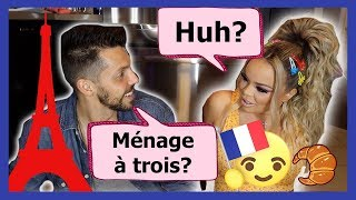 BOYFRIEND SPEAKING ONLY FRENCH FOR 24 HOURS!!!!! **IT GOT CRAZY**