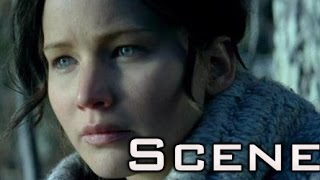 The Hunger Games: Catching Fire - Beginning and First kiss of Gale in HD