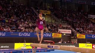 Angelina Melnikova - Balance Beam - 2018 Stuttgart World Cup