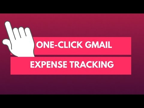 One-Click Expense Tracking through Gmail Extension