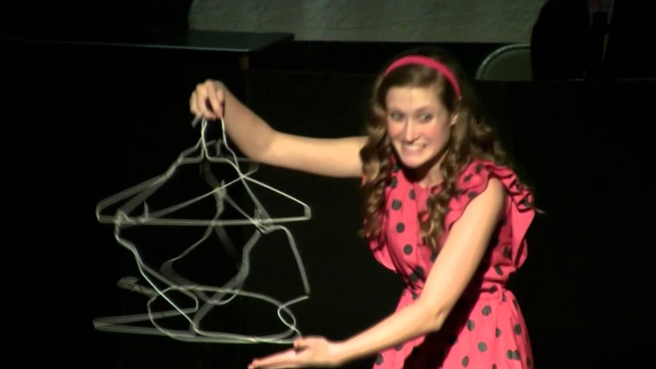 Arianna Torello) Coathanger sculpture monologue ~ You&39re a Good