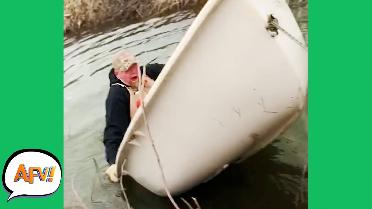 Yeah That Was NEVER Gonna Float   Best Funny Fails  AFV 2021