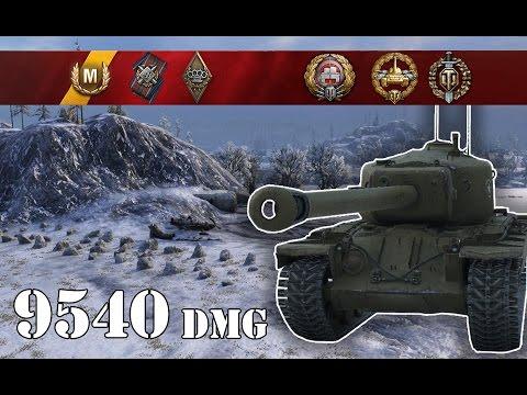 World of Tanks / T30 .. 9540 Dmg
