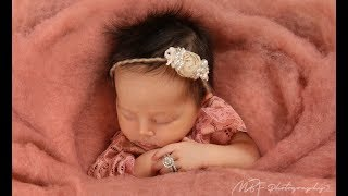 Newborn Photography Session - Behind the Scenes
