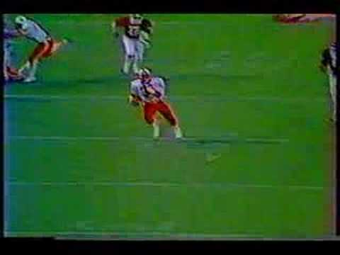 Mike Rozier long run vs Oklahoma 1983