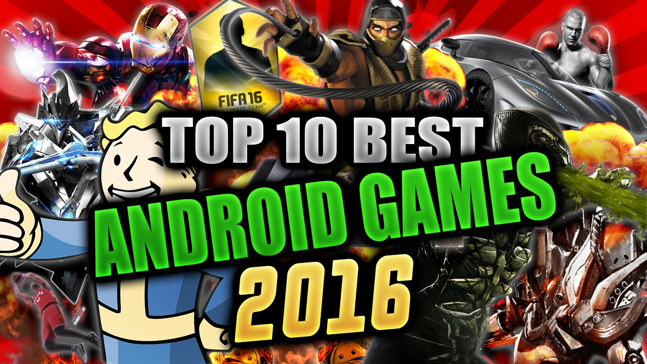 Top 10 Best Hd Android Games High Graphics Youtube