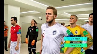 England vs Switzerland | Full Match & All Goals 2018 | PES 2018 Gameplay HD