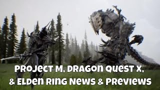 Project M Prototype Korean RPG, Dragon Quest X Offline Gameplay Preview & Metroid Dread #GamingNews