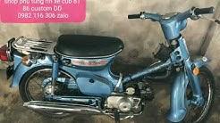 Honda cánh én mỹ có đề 70cc , dòng xe châu á không bao giờ có để sử dụng