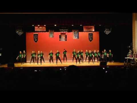 Donna High School D'ettes Team HipHop at Dance Concert 2017