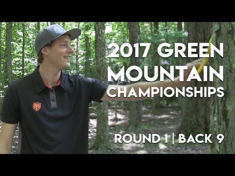 2017 Green Mountain Champs - Ricky Wysocki, Simon Lizotte, Nate Sexton, Drew Gibson - Rnd 1   Back 9