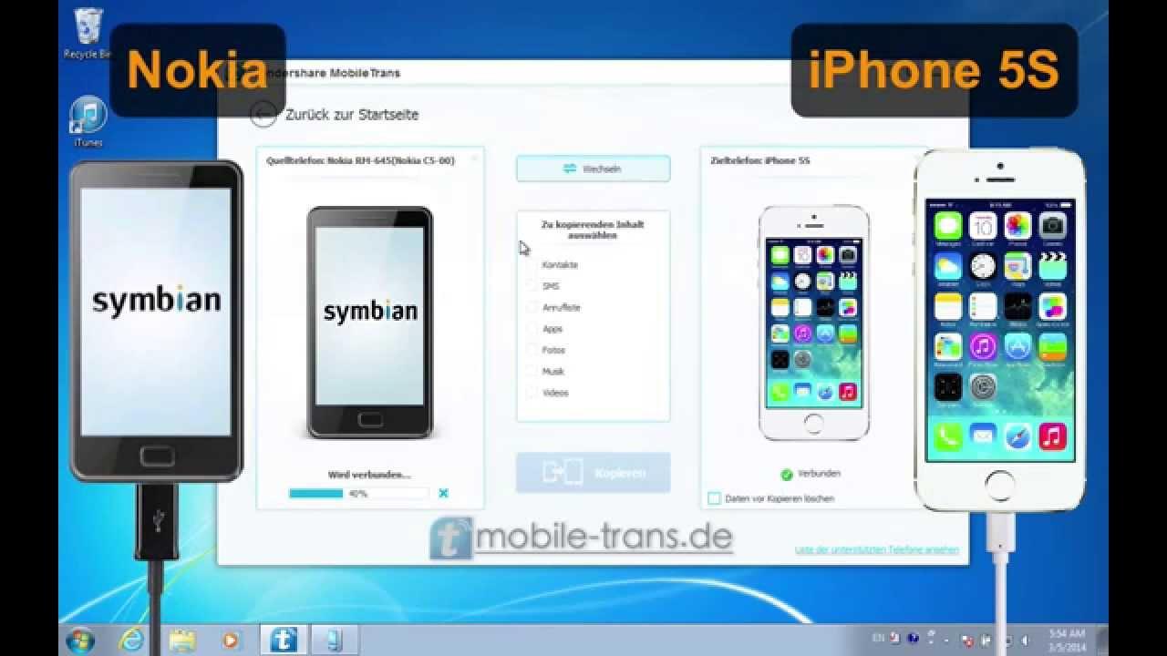 Daten übertragen iphone 6 auf 7