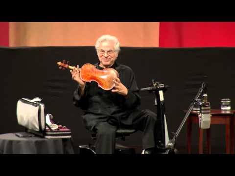 Itzhak Perlman on the origin of his violin