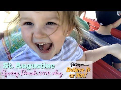 ST  AUGUSTINE VLOG // SPRING BREAK 2018 // TEAM DARLEY
