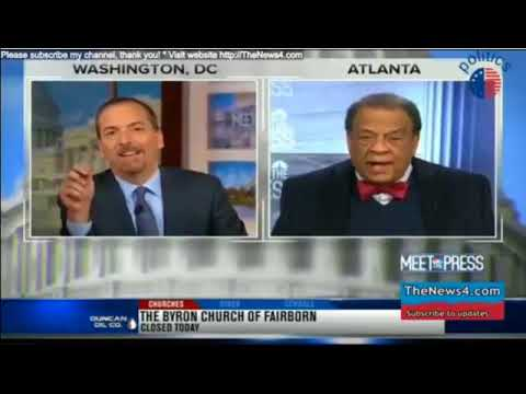 Andrew Young   Meet the Press