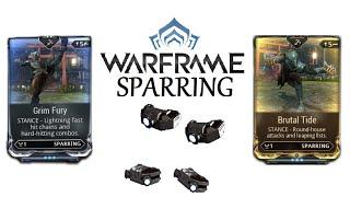 Video Warframe Stances - Brutal Tide & Grim Fury (Sparring) download MP3, 3GP, MP4, WEBM, AVI, FLV November 2017