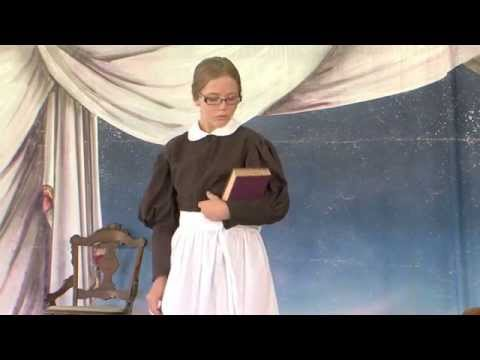 Young Chautauqua 2014: Lanie Freeland as LOUISA HAWKINS CANBY